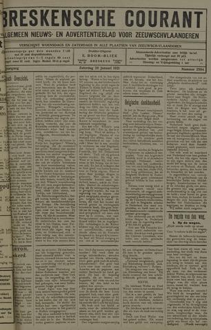 Breskensche Courant 1921-01-29