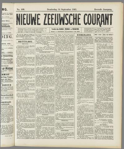 Nieuwe Zeeuwsche Courant 1911-09-14