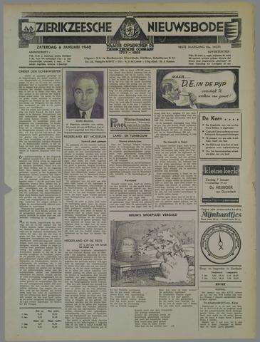 Zierikzeesche Nieuwsbode 1940-01-06