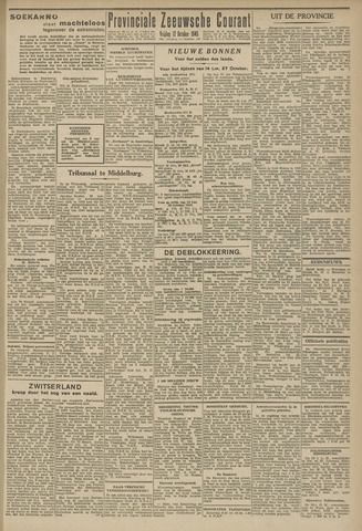 Provinciale Zeeuwse Courant 1945-10-12