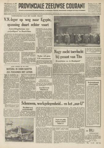 Provinciale Zeeuwse Courant 1956-11-13
