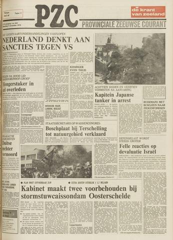 Provinciale Zeeuwse Courant 1974-11-11