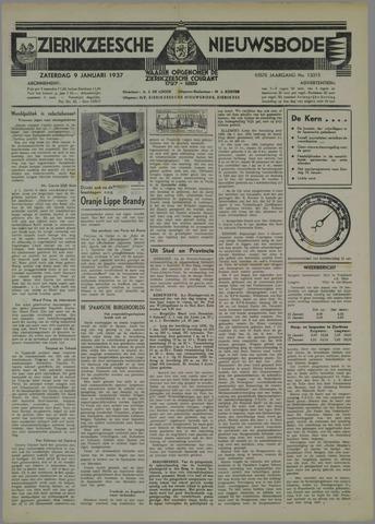 Zierikzeesche Nieuwsbode 1937-01-09