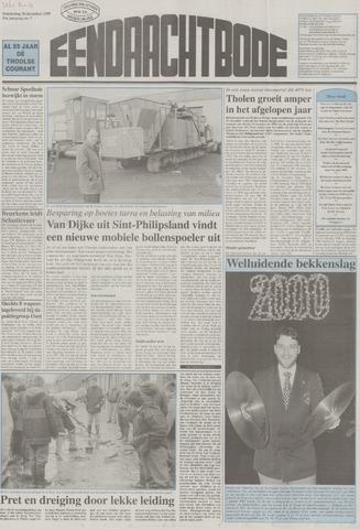 Eendrachtbode (1945-heden)/Mededeelingenblad voor het eiland Tholen (1944/45) 1999-12-30