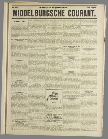 Middelburgsche Courant 1925-08-25