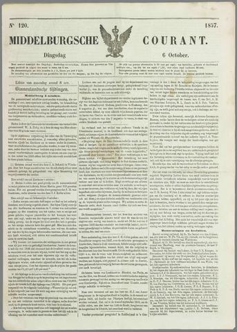 Middelburgsche Courant 1857-10-06