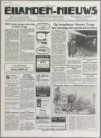 Eilanden-nieuws. Christelijk streekblad op gereformeerde grondslag 1985-06-14