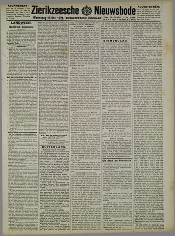 Zierikzeesche Nieuwsbode 1921-10-19
