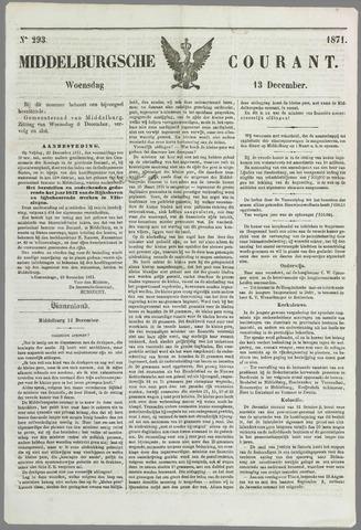 Middelburgsche Courant 1871-12-13