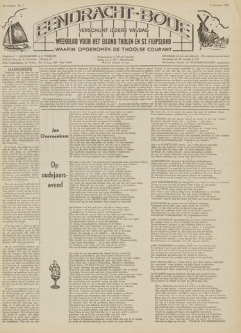 Eendrachtbode (1945-heden)/Mededeelingenblad voor het eiland Tholen (1944/45) 1959-12-31