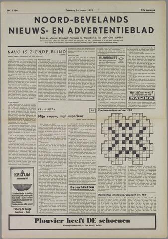 Noord-Bevelands Nieuws- en advertentieblad 1970-01-24