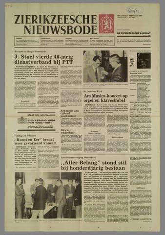 Zierikzeesche Nieuwsbode 1984-02-06