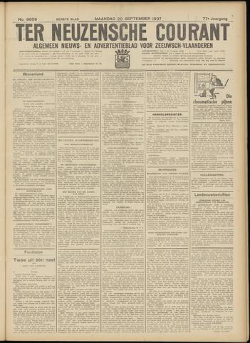 Ter Neuzensche Courant. Algemeen Nieuws- en Advertentieblad voor Zeeuwsch-Vlaanderen / Neuzensche Courant ... (idem) / (Algemeen) nieuws en advertentieblad voor Zeeuwsch-Vlaanderen 1937-09-20