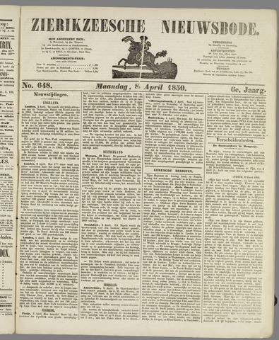 Zierikzeesche Nieuwsbode 1850-04-08