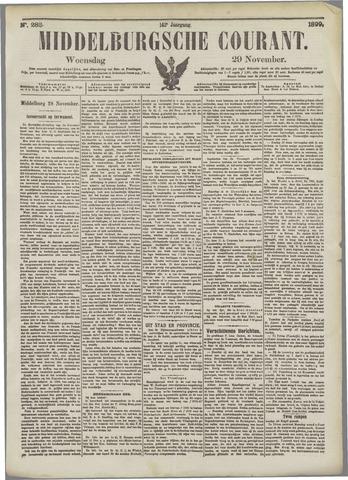 Middelburgsche Courant 1899-11-29