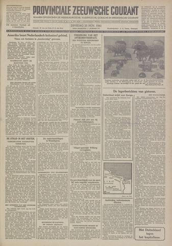 Provinciale Zeeuwse Courant 1941-11-25