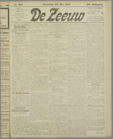 De Zeeuw. Christelijk-historisch nieuwsblad voor Zeeland 1917-05-26