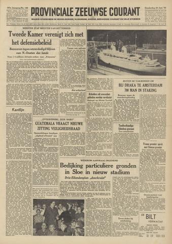Provinciale Zeeuwse Courant 1954-06-24
