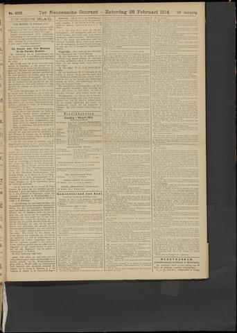 Ter Neuzensche Courant. Algemeen Nieuws- en Advertentieblad voor Zeeuwsch-Vlaanderen / Neuzensche Courant ... (idem) / (Algemeen) nieuws en advertentieblad voor Zeeuwsch-Vlaanderen 1914-02-28