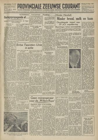 Provinciale Zeeuwse Courant 1947-09-23