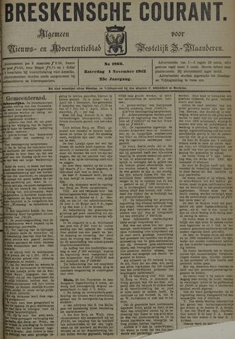 Breskensche Courant 1913-11-01