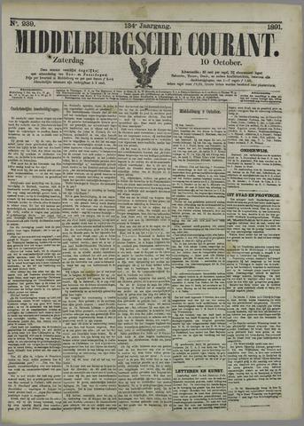 Middelburgsche Courant 1891-10-10