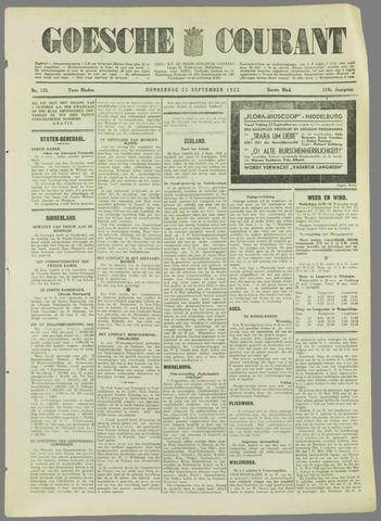 Goessche Courant 1932-09-22