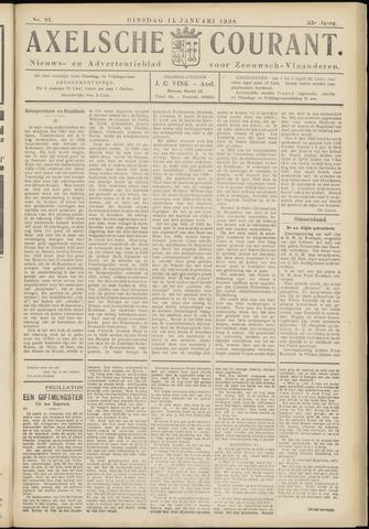 Axelsche Courant 1938-01-11