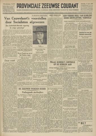 Provinciale Zeeuwse Courant 1949-07-16