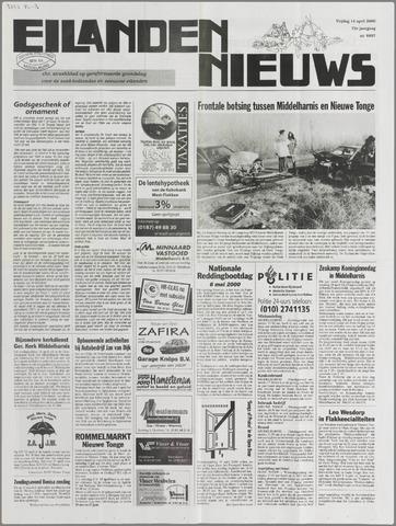 Eilanden-nieuws. Christelijk streekblad op gereformeerde grondslag 2000-04-14