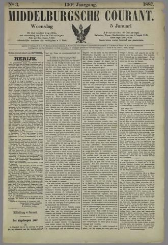 Middelburgsche Courant 1887-01-05