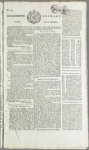 Zierikzeesche Courant 1824-09-17
