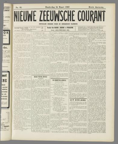 Nieuwe Zeeuwsche Courant 1907-03-14