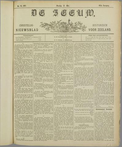 De Zeeuw. Christelijk-historisch nieuwsblad voor Zeeland 1897-05-11