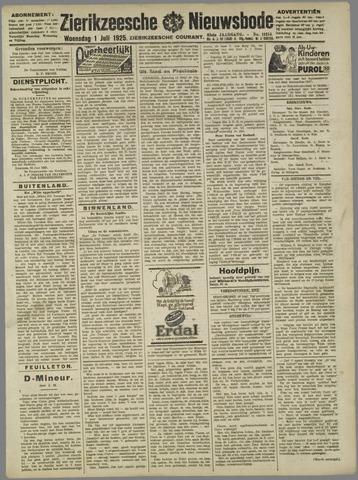 Zierikzeesche Nieuwsbode 1925-07-01