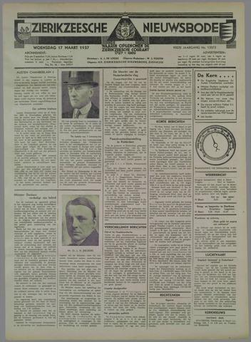 Zierikzeesche Nieuwsbode 1937-03-17