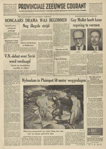 Provinciale Zeeuwse Courant 1957-10-23