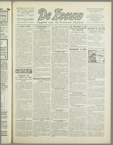 De Zeeuw. Christelijk-historisch nieuwsblad voor Zeeland 1937-12-14