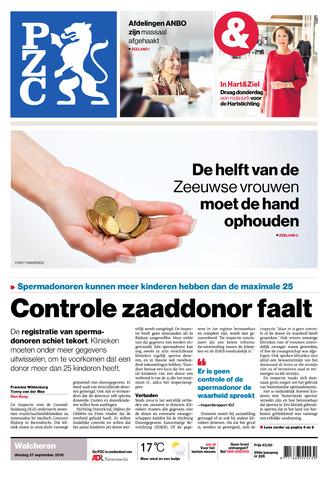 Provinciale Zeeuwse Courant 2016-09-27
