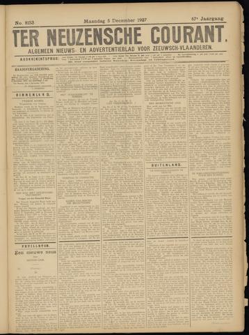 Ter Neuzensche Courant. Algemeen Nieuws- en Advertentieblad voor Zeeuwsch-Vlaanderen / Neuzensche Courant ... (idem) / (Algemeen) nieuws en advertentieblad voor Zeeuwsch-Vlaanderen 1927-12-05