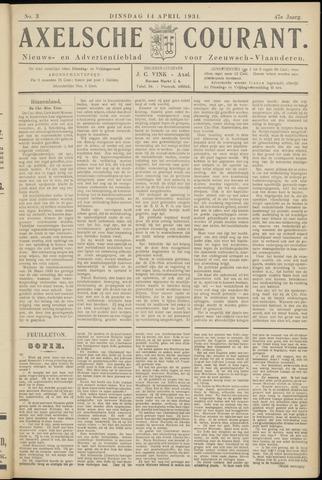 Axelsche Courant 1931-04-14