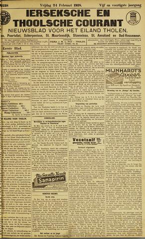 Ierseksche en Thoolsche Courant 1928-02-24