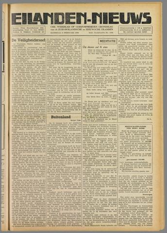 Eilanden-nieuws. Christelijk streekblad op gereformeerde grondslag 1949-02-05