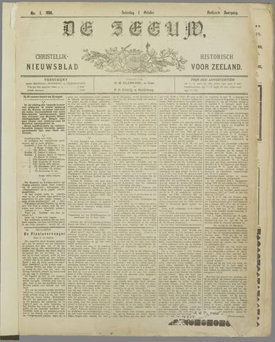 De Zeeuw. Christelijk-historisch nieuwsblad voor Zeeland 1898-10-01