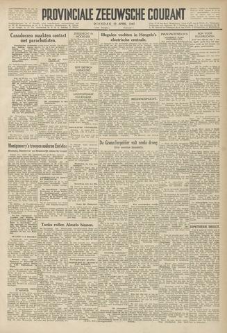 Provinciale Zeeuwse Courant 1945-04-10