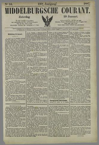 Middelburgsche Courant 1887-01-29