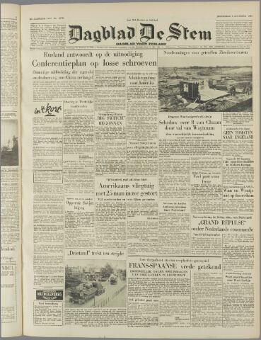 de Stem 1953-08-06