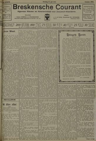 Breskensche Courant 1934-07-31