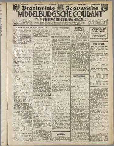 Middelburgsche Courant 1934-04-19