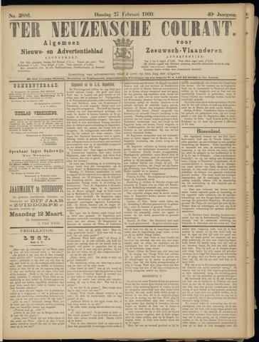 Ter Neuzensche Courant. Algemeen Nieuws- en Advertentieblad voor Zeeuwsch-Vlaanderen / Neuzensche Courant ... (idem) / (Algemeen) nieuws en advertentieblad voor Zeeuwsch-Vlaanderen 1900-02-27